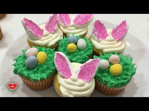 DIY Easter Cupcakes! | Kristen from Millennial Moms