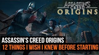 12 Things I Wish I Knew Before Starting Assassin's Creed Origins