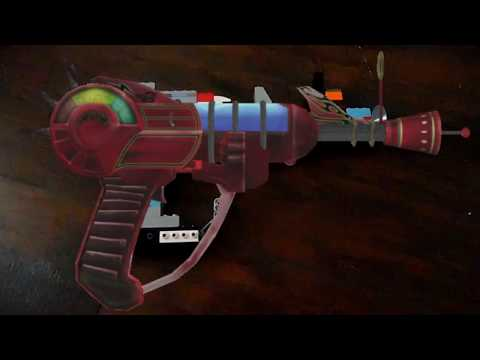 lego ray gun from black ops zombies