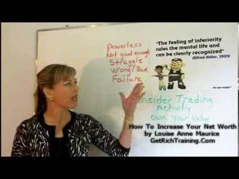 How To Increase Your Net Worth by Louise Anne Maurice