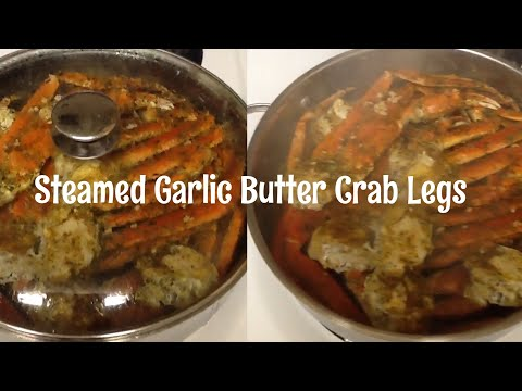 How to steam crab legs