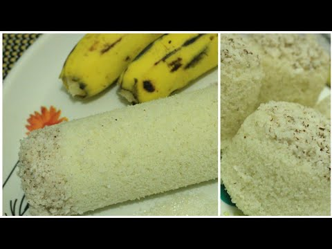 Puttu recipe - Kerala puttu with and without puttu maker - Rice cake with homemade rice flour