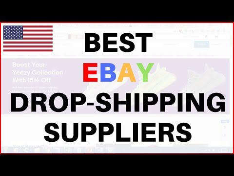 The BEST eBay Dropshipping SUPPLIERS in the United States and Why