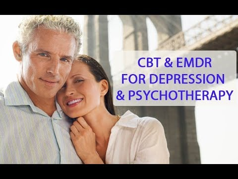 CBT and EMDR For Depression & Psychotherapy Therapy