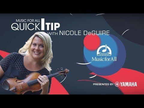 Quick Tip with Nicole DeGuire