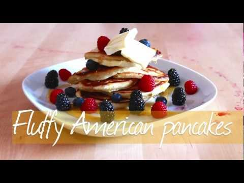 Fluffy American pancakes recipe - Allrecipes.co.uk