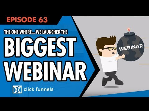 That One Where We Launched The Biggest Webinar In History ... Funnel Hacker TV Episode 63