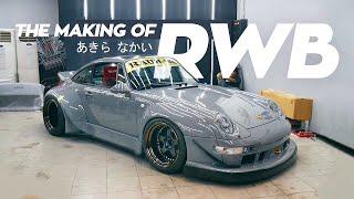 The Making of Porsche 993 RWB 08 Indonesia!
