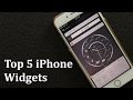 Top 5 Widget Apps for your iPhone for 2017