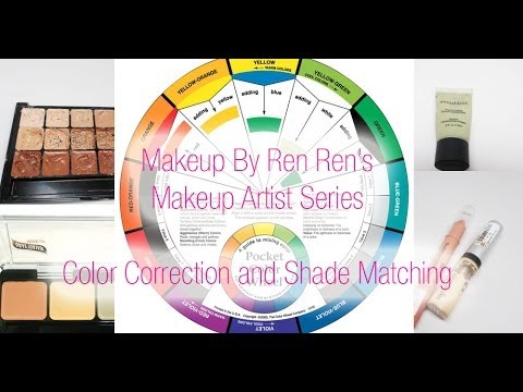 Makeup Artist Series:  Color Correction & Shade Matching