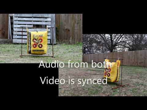 $300 Bear Archery Cruzer sound test Downrange + At bow