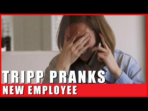 Tripp Prank Calls New Employee