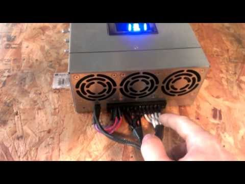 How to build a high amperage DC power supply.