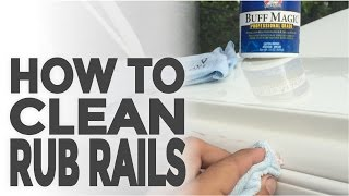 It's Easy To Keep Your Rub Rails Looking Brand New!