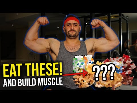 8 Foods You NEED To Eat To Build Muscle FAST