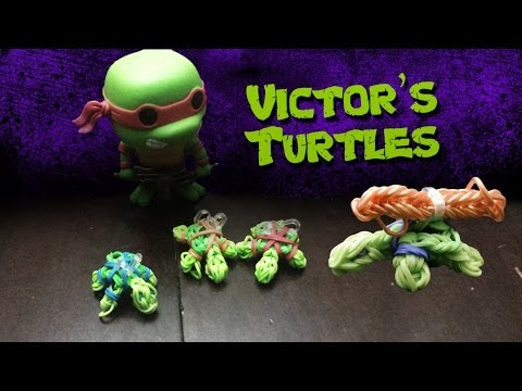 Making a Turtle in the Rainbow Loom