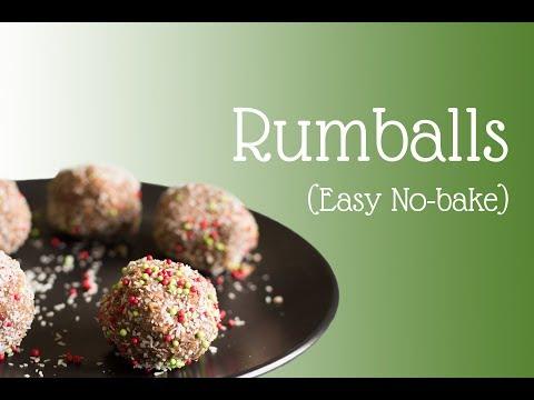 Rum Balls (FAST!)