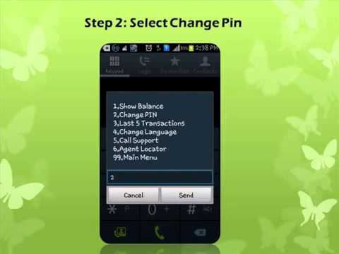 How To change PIN in m pesa