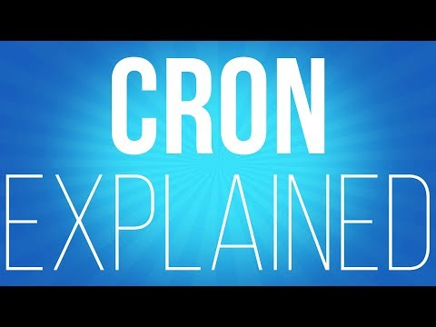CRON - task scheduling in linux