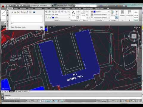 AutoCAD Area & Unit Conversion