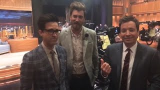 LIVE from Studio 6B with Jimmy Fallon and Rhett & Link!