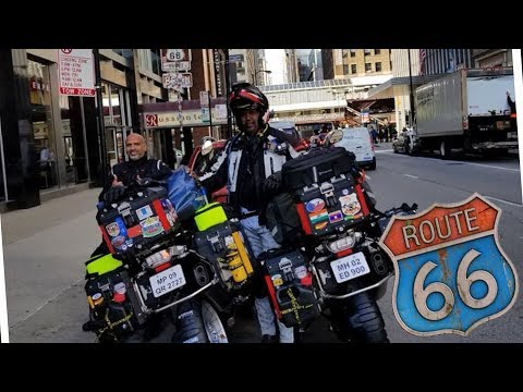 WORLD RIDE 2017    EP. 96    BEGINNING OF ROUTE 66, USA