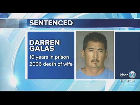 Galas sentenced