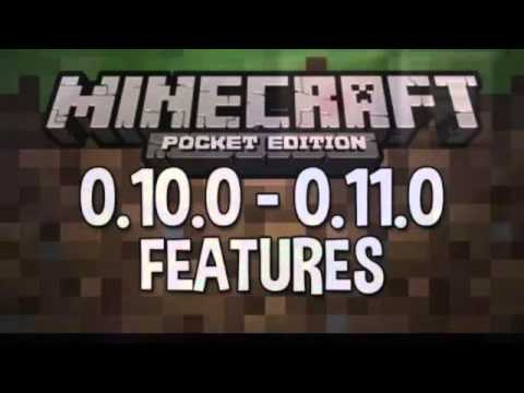 Minecraft PE 0.10.0-0.11.0 Features: Boats,Hunger,Nether