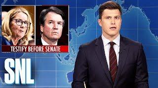 Download Weekend Update: Brett Kavanaugh and Dr. Ford Testify - SNL Video
