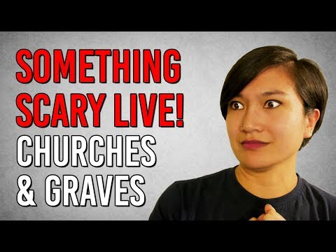CHURCHES & GRAVES! Scary Story Time // Snarled Live | Snarled