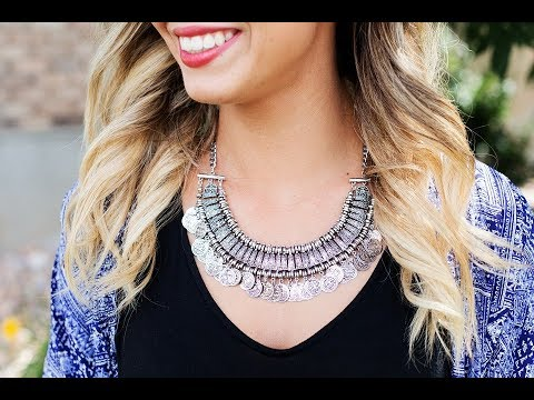 How to Wear Jewelry with Clothes - Video Tutorial