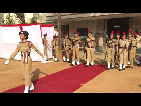 Sathaye College NCC Guard of Honor NAAC Presentation 2017
