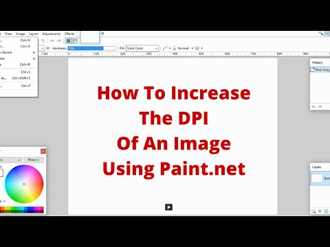 How To Increase The DPI Of An Image With PAINT.NET