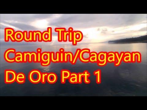 Round Trip Camiguin / Cagayan De Oro Part 1 Benoni - Ferry - Balingoan Bus Terminal
