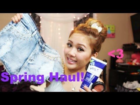 Collective Haul: Dry Shampoo, MAC Makeup, High Waisted Denim Shorts