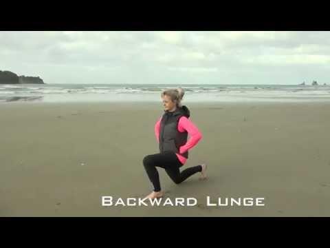 Leg Exercise For Dressage Rider - Backward Lunge