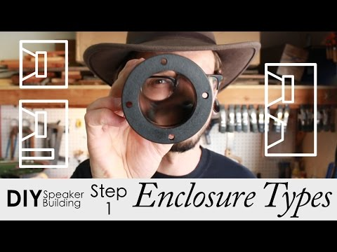 How To Pick An Enclosure Type   Step 1   DIY Speaker Building