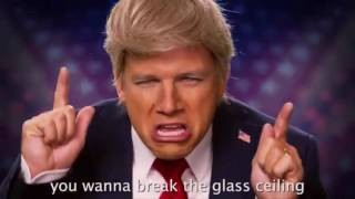 Donald Trump vs Hillary Clinton. Epic Rap Battles of History.(clean version)