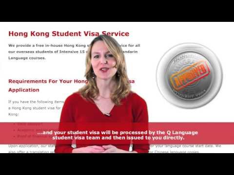 Hong Kong Student Visa - Obtaining a Hong Kong Study Visa with Q Language