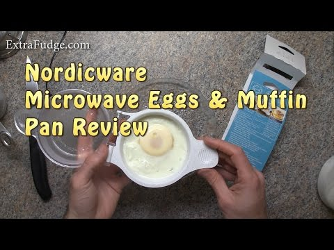 Nordicware Microwave Eggs & Muffin Pan Review