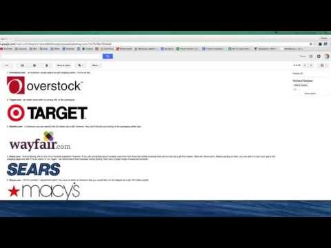 ebay Retail Drop Shipping - Gift Shipping & Selecting/Finding Retail Suppliers