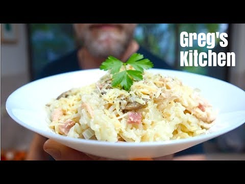 HOW TO MAKE RISOTTO - Slow Cooker Chicken and Mushroom - Greg's Kitchen