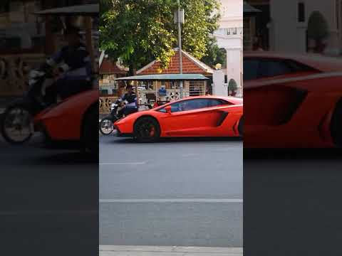 Lamborghini in Cambodia 🇰🇭
