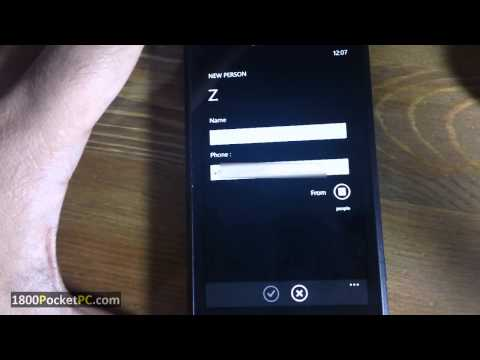 Send Group SMS on Windows Phone 7