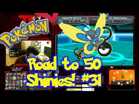 Road to 50 Shinies   Shiny #31   SHINY BURMY!   Masuda Method   Pokemon XY