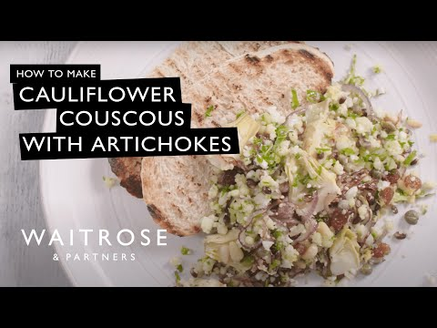 Beautifully Simple Cauliflower Couscous with Artichokes and Capers | Waitrose