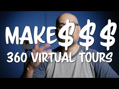 How To Make Money with Your 360 GoPro Fusion Camera creating Virtual Tours