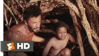 The Naked Prey (7/9) Movie CLIP - Foreign Intruders (1966) HD