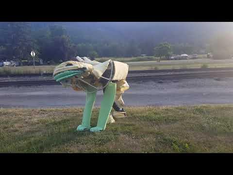 Toothless costume quadsuit 02