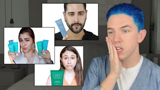 Reacting to People Bashing My Skin Care Brand